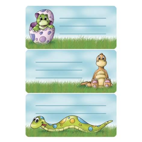 Etikett Heftschild Tiere beglimmert 4917