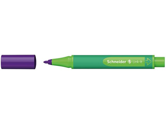 #10xFaserschreiber Link-It violett