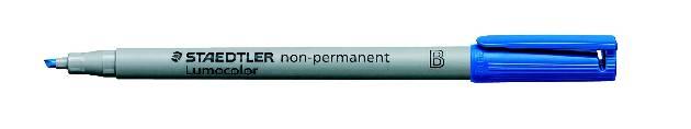 #10xLumocolor Folienschreiber Breit Blau Wl 3123