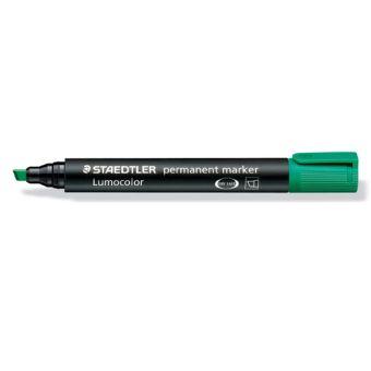 #10xPermanent-Marker 350 Grün Staedtler