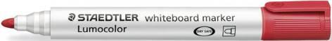 #10xWhite-Board-Marker 351 Rot Lumocolor