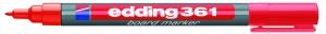 Edding Board-Marker 361 rot Rundspitze