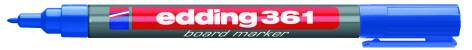 Edding Board-Marker 361 Blau Rundspitze