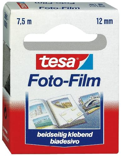 tesa Photo Film, 12 mm x 7,5 m, transparent, Nachfüllpac...