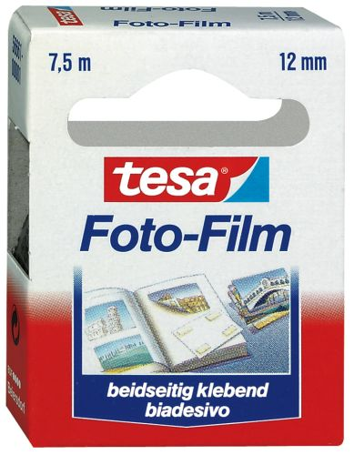 tesa Photo Film, 12 mm x 7,5 m, transparent, Nachfüllpac...