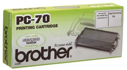 Original Mehrfachkassette für brother Fax T72/T74, schwarz