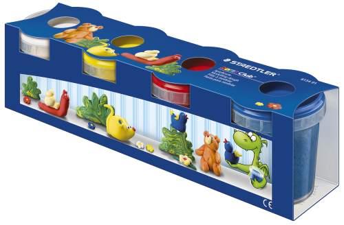 STAEDTLER Spielknete-Set Noris Club, 4 Basisfarben