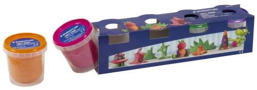 STAEDTLER Spielknete-Set Noris Club, 4 Sonderfarben