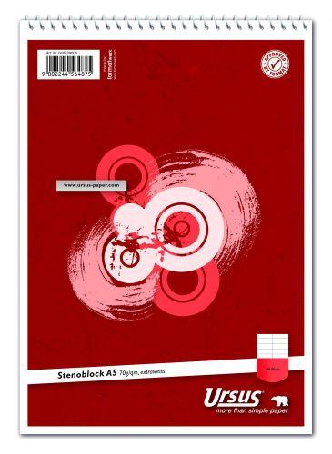 #10xSchulblock A5 m.Spirale Steno