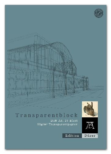 Transparentpapierblock A4 25BL