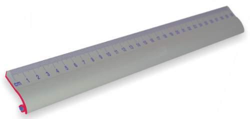WEDO Lineal, 300 mm, aus Aluminium, rutschsichere