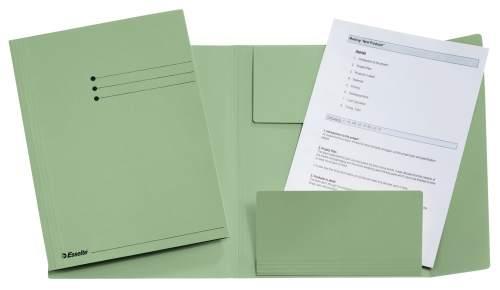 Jurismappe A4 grün