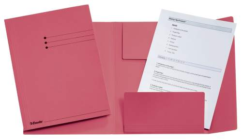 Jurismappe A4 rosa