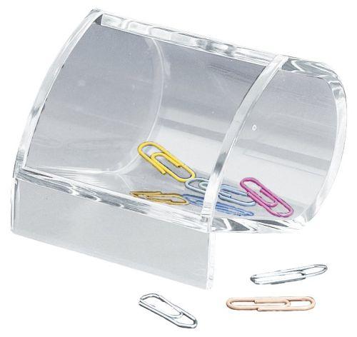 Büroklammernspender glasklar