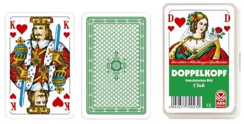 Spielkarten Doppelkopf franz.