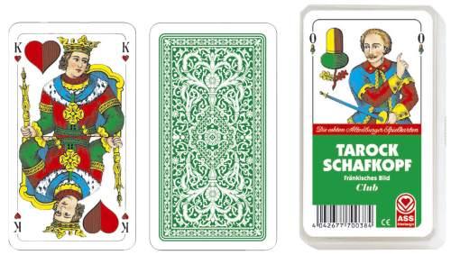 Kartenspiel Schafkopf Tarock Fränkisches Bild im Kunstst...