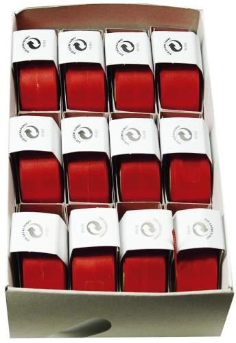 #12xSusifix Satinaband rot