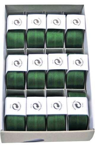#12xSusifix Satinaband    dkl.grün