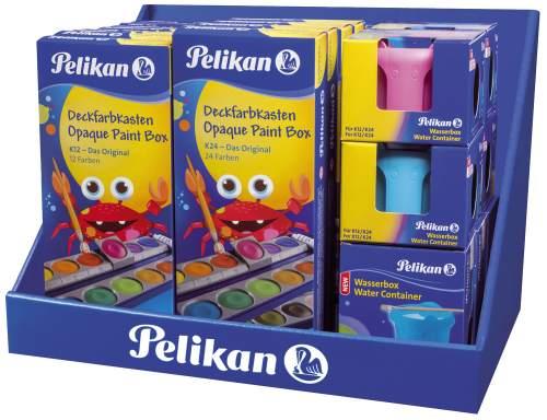 Pelikan Schulmodul 745: Deckfarbkasten K12/K24 / Wasserb...