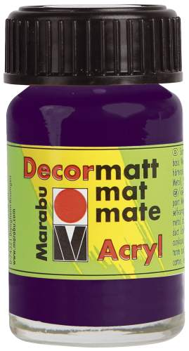 Decormatt Acryl aubergine