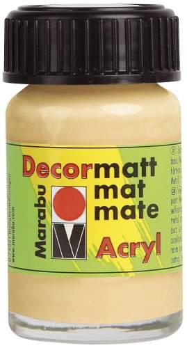 Decormatt Acryl milchkaffee
