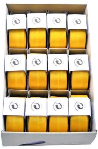 #12xSusifix Satinaband         gelb