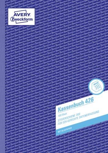 AVERY Zweckform Formularbuch Kassenbuch EDV, A4, 100 B...