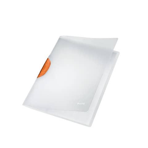 #6xLEITZ Klemmmappe Magic A4 orange