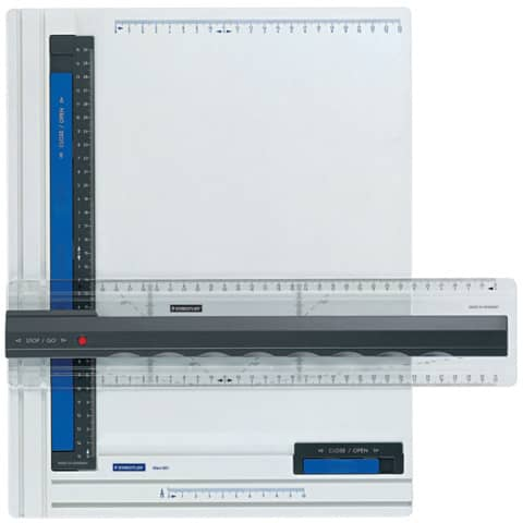 STAEDTLER Zeichenplatte Mars, DIN A4, weiß/anthrazit/blau