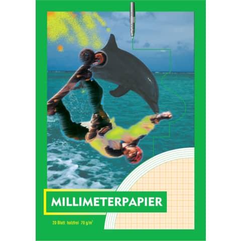 Millimeterpapierblock A3 20BL