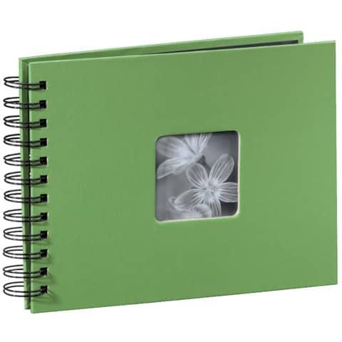 HAMA Fotospiralbuch Fine Art grün