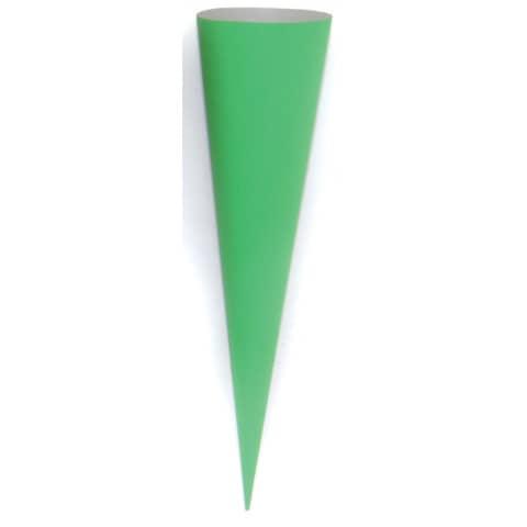 Bastelschultüte 70cm grün