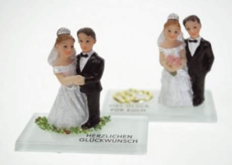 #20xDekofigur Hochzeitspaar sort.
