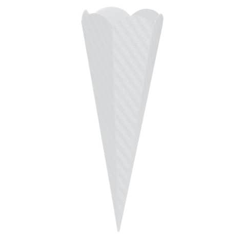 GOLDBUCH Bastelschultüte 68cm weiß