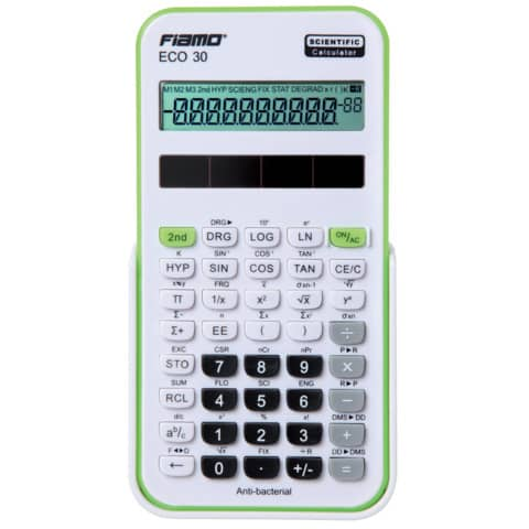 FIAMO Taschenrechner 10-stellig grün