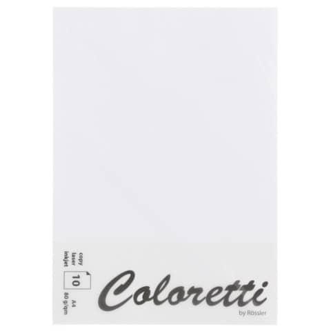 COLORETTI Briefbogen A4 80g 10ST weiß