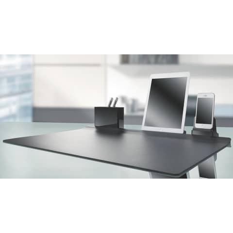 HAN Smartphone-Ständer smart-Line, hochglänzend, schwarz