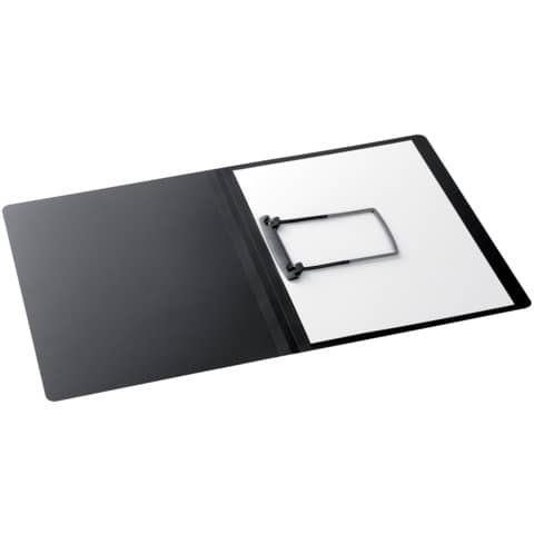 JALEMA Clip-Mappe A4 PP schwarz
