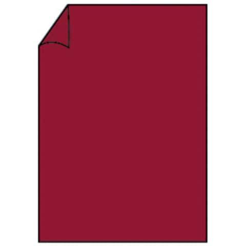 COLORETTI Briefbogen A4 165g 10ST rosso