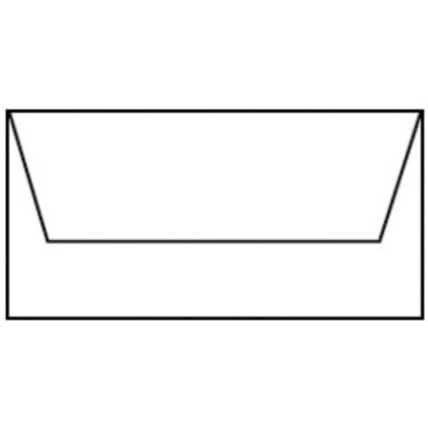 COLORETTI Briefhülle DL 5ST weiß