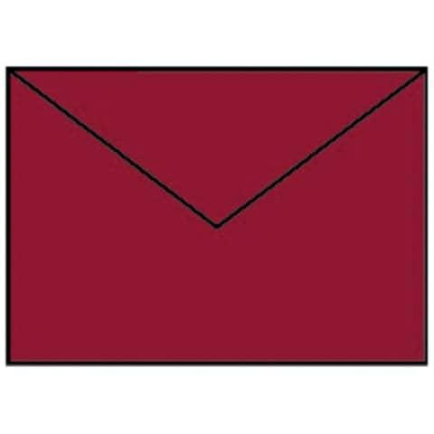 COLORETTI Briefhülle C6 5ST rosso