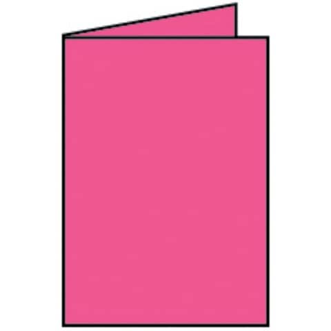 COLORETTI Briefkarte B6 HD 5ST pink