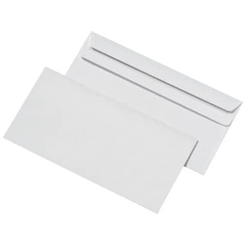 MAILmedia Briefumschlag Offset weiß, DIN lang, ohne Fenster
