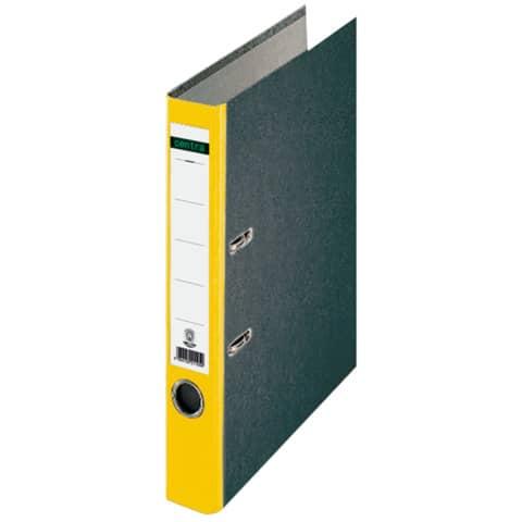 Ordner-Centra 50Mm mit Farbigem Rücken Gelb Schlitz