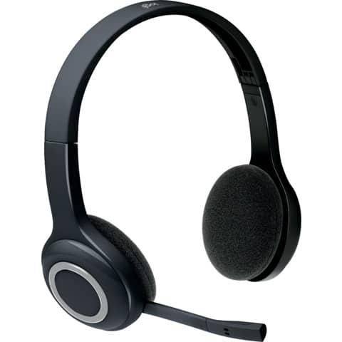 LOGITECH Kopfhörer Bluetooth schwarz