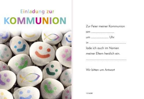 Kommunionseinladung 5ST