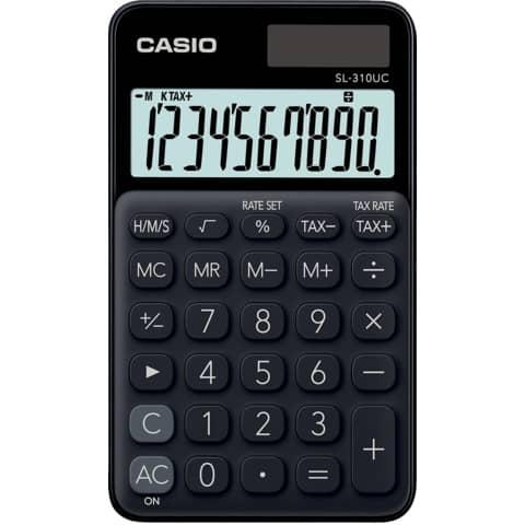 CASIO Taschenrechner 10-stellig schwarz