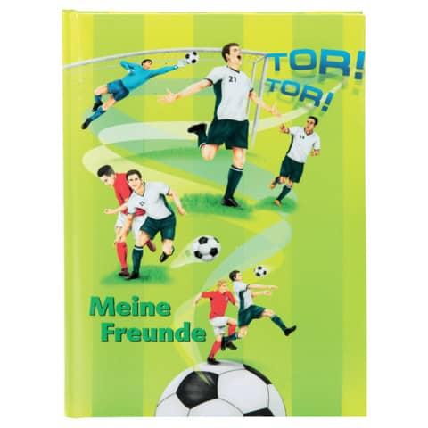 CHAMPIONSHIP Freundebuch A5 Fussballer