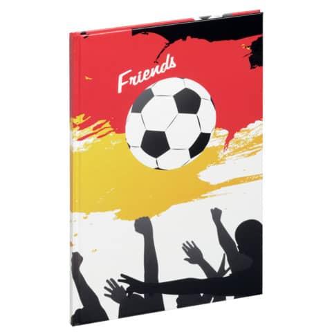 PAGNA Freundebuch A5 Fußballfans