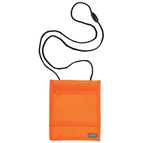 PAGNA Brustbeutel XL, aus Nylon, orange